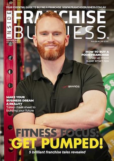 Inside Franchise Business (AU) magazine cover