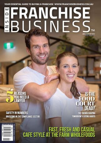 Inside Franchise Business (AU) magazine cover