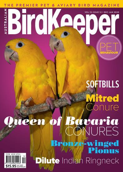 Australian BirdKeeper (AU) magazine cover
