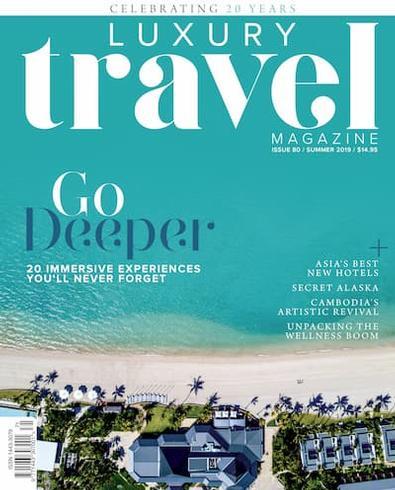 Luxury Travel (AU) magazine cover