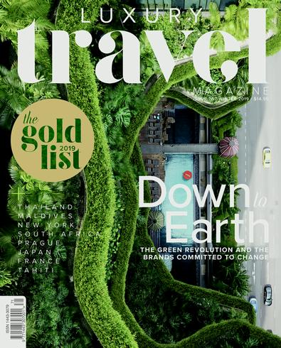 Luxury Travel (AU) magazine cover