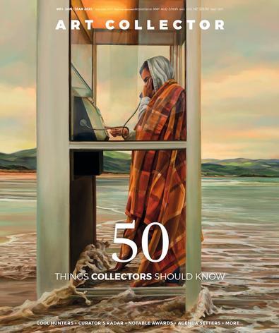 Art Collector (AU) magazine cover