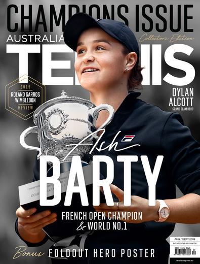 Australian Tennis Magazine (AU) cover