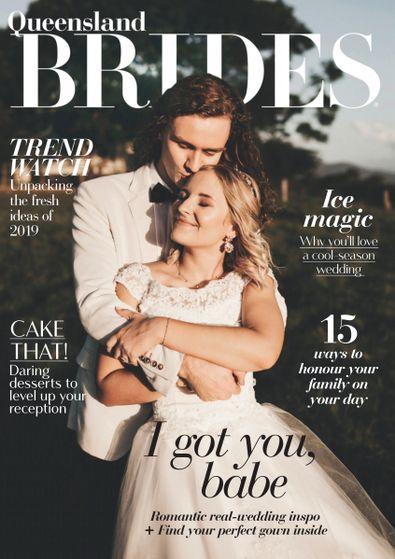 Queensland Brides (AU) magazine cover