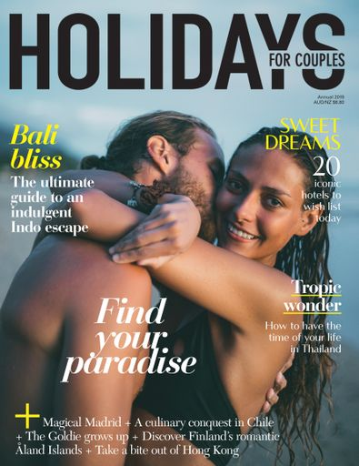Holidays for Couples (AU) magazine cover