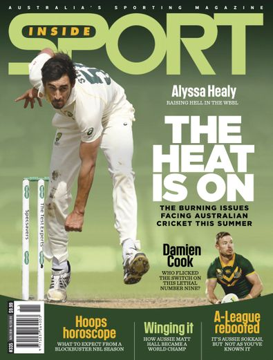 Inside Sport (AU) magazine cover