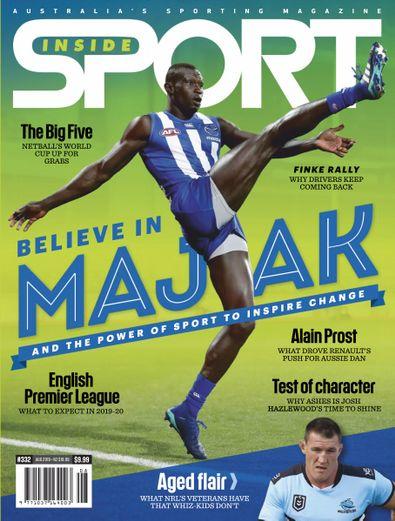 Inside Sport (AU) magazine cover