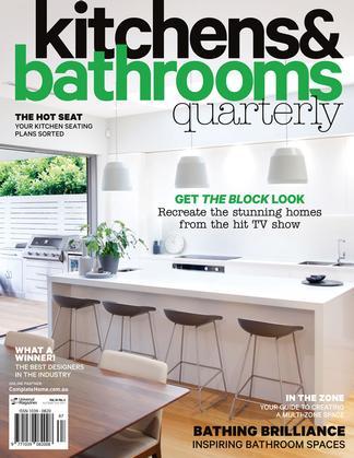 Kitchens & Bathrooms Quarterly (AU) magazine cover