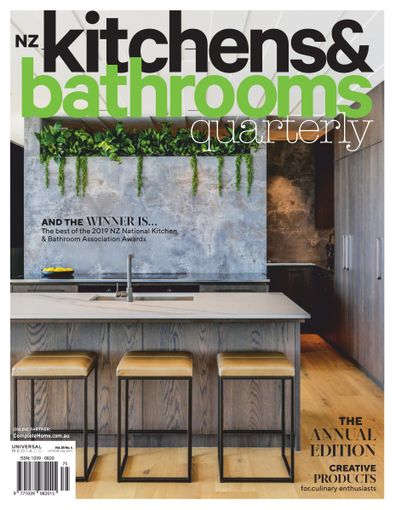 Kitchens & Bathrooms Quarterly (AU) magazine cover