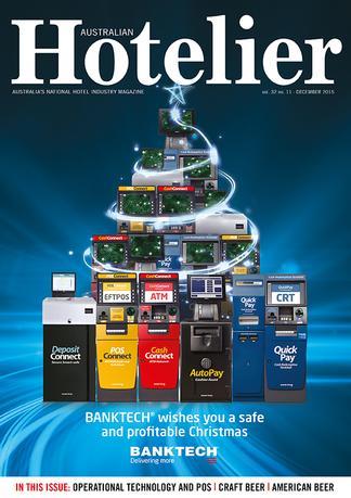 Australian Hotelier (AU) magazine cover