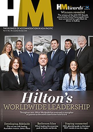 Hotel & Accommodation Management (AU) magazine cover