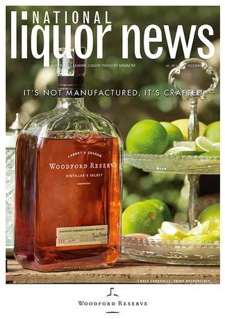 National Liquor News (AU) magazine cover