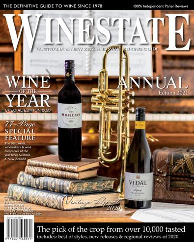 Winestate (AU) magazine cover