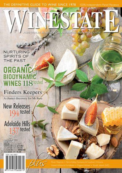 Winestate (AU) magazine cover