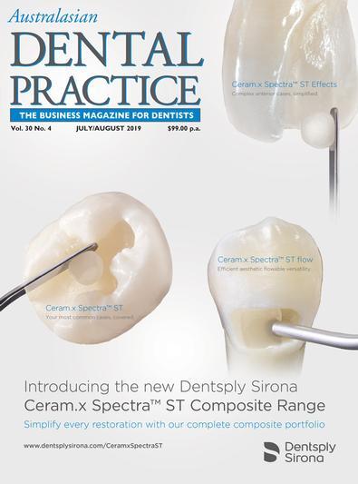Australasian Dental Practice (AU) magazine cover