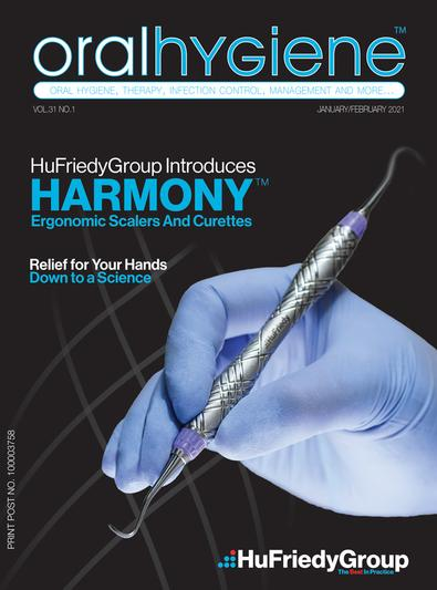 Oral Hygiene formerly Auxiliary (AU) magazine cover