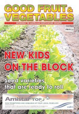 Good Fruit & Vegetables (AU) magazine cover