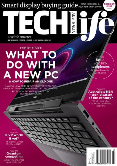 TechLife (AU) magazine cover