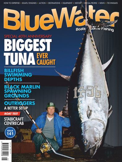 BlueWater Boats & Game Fishing (AU) magazine cover