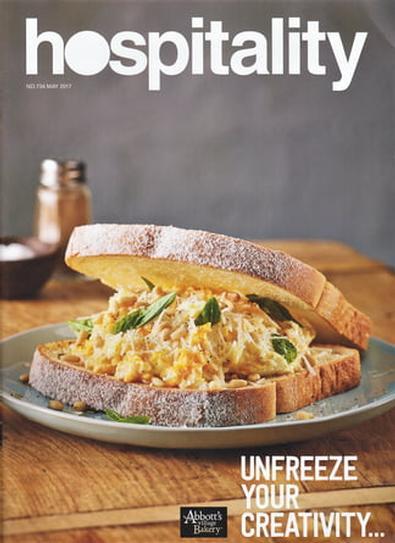 Hospitality (AU) magazine cover