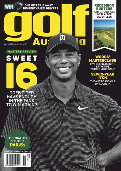 Golf Australia (AU) magazine cover