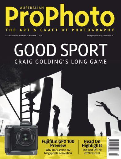 ProPhoto (AU) magazine cover