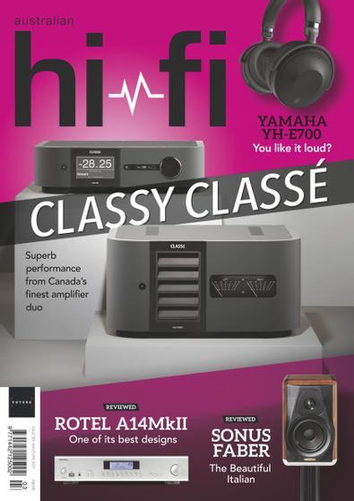 Australian Hi-Fi (AU) magazine cover