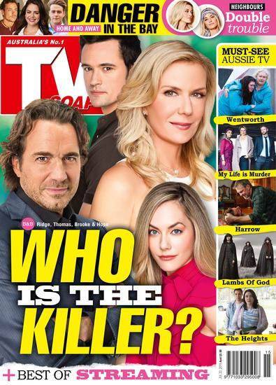 TV Soap (AU) magazine cover