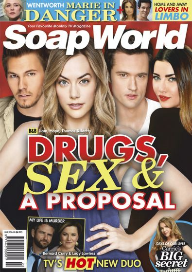 Soap World (AU) magazine cover