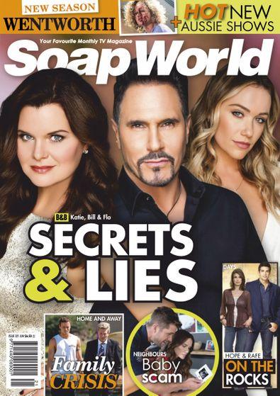 Soap World (AU) magazine cover