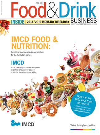 Food & Drink Business (AU) magazine cover