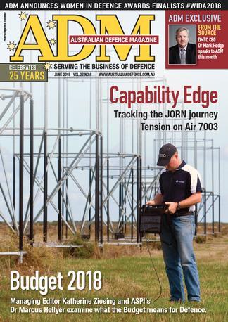 Australian Defence Magazine (AU) cover