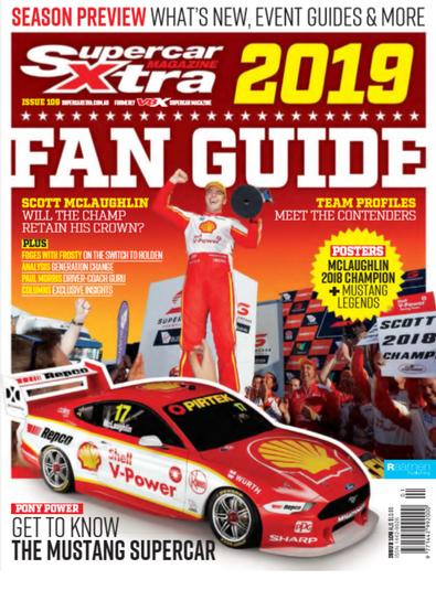V8X Supercar Magazine (AU) cover