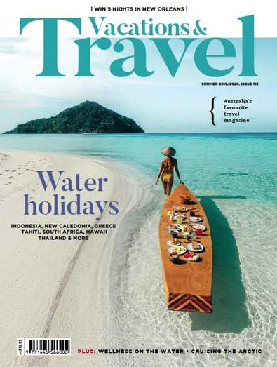 Vacations & Travel (AU) magazine cover