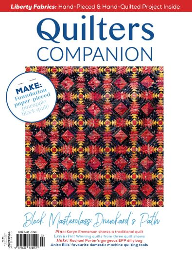 Quilters Companion (AU) magazine cover
