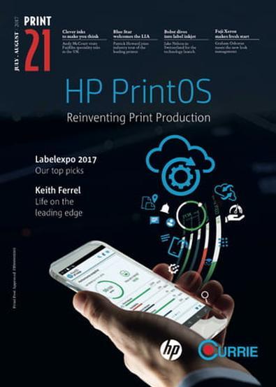 Print21 (AU) magazine cover