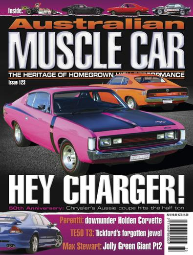 Australian Muscle Car (AU) magazine cover