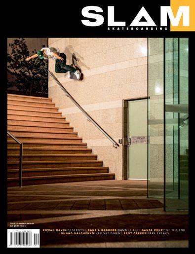 SLAM SKATEBOARDING (AU) magazine cover