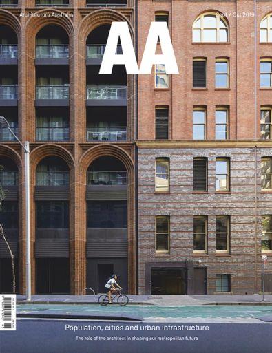 Architecture Australia (AU) magazine cover