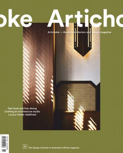 Artichoke (AU) magazine cover
