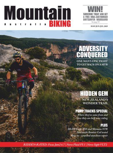Mountain Biking Australia (AU) magazine cover