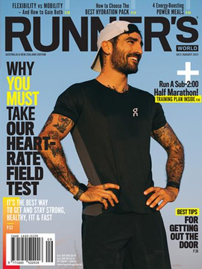 Runner's World Australia & New Zealand (AU) magazine cover