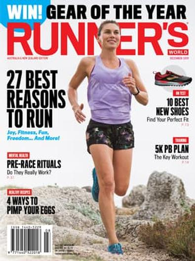 Runner's World Australia & New Zealand (AU) magazine cover