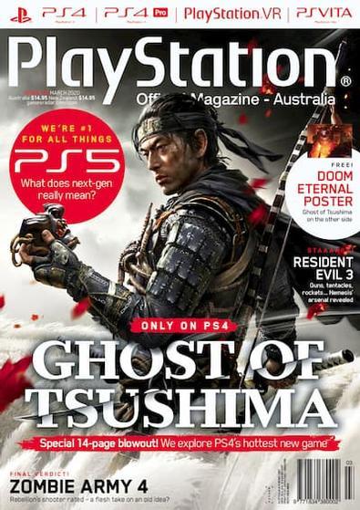 Australian Official Playstation Magazine (AU) cover