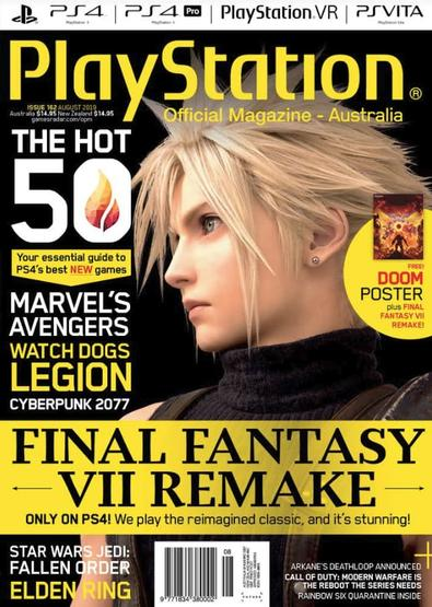 Australian Official Playstation Magazine (AU) cover
