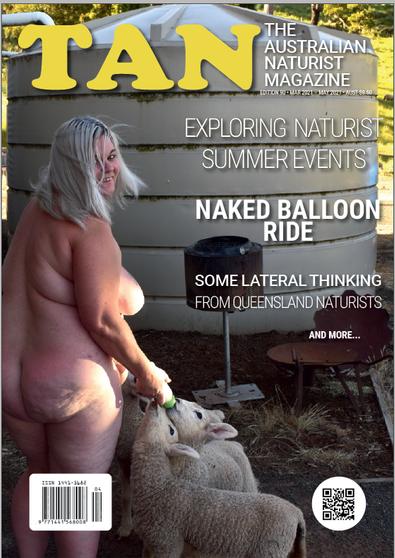 The Australian Naturist (AU) magazine cover