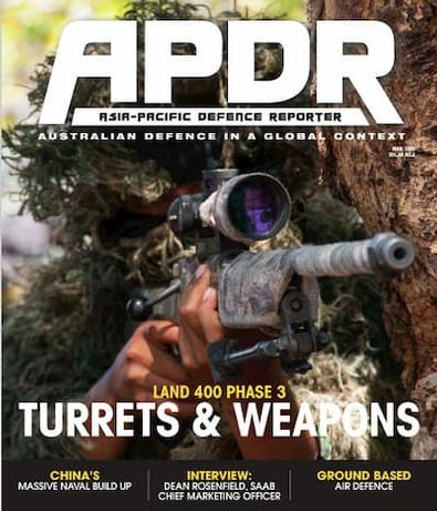 Asia-Pacific Defence Reporter (AU) magazine cover