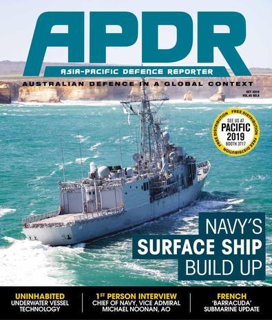 Asia-Pacific Defence Reporter (AU) magazine cover