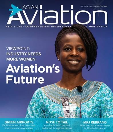 Asian Aviation (AU) magazine cover