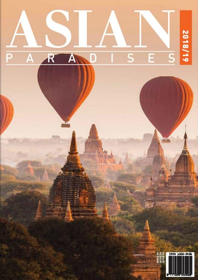 Asian Paradises (AU) magazine cover